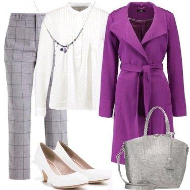 Outfit Colore con il cappotto