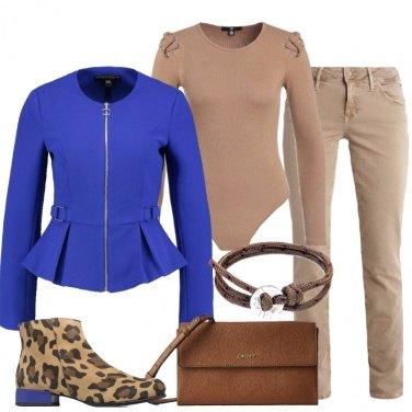Outfit Il tronchetto leopardato