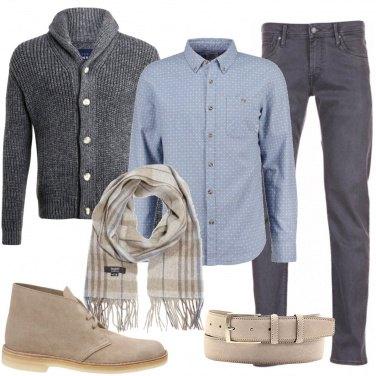 Outfit La sciarpa scozzese