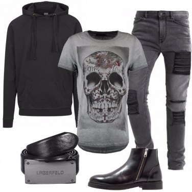 Outfit Carattere rock