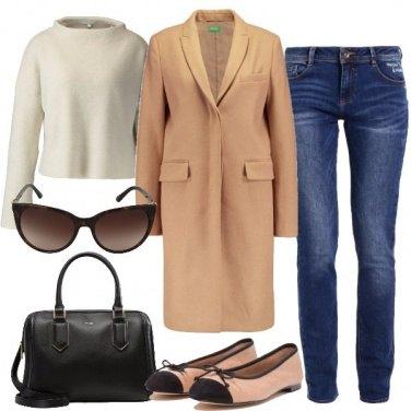 Outfit Semplice e sobrio