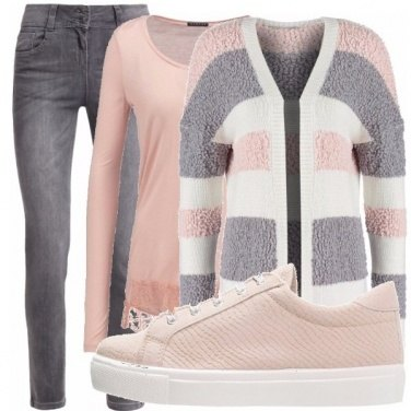 Outfit Cardigan multicolor