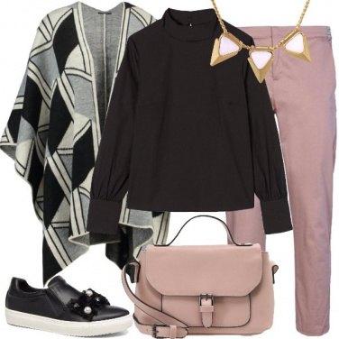 Outfit Il pantalone rosa