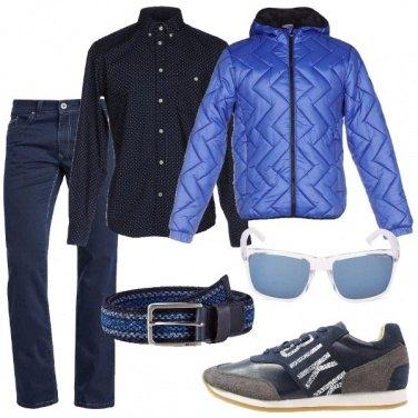Outfit Piumino leggero