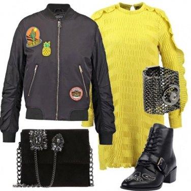 Outfit Giallo sempre