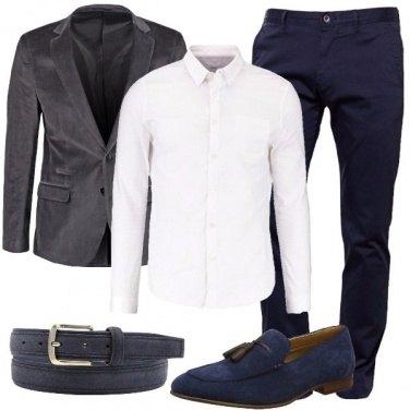Outfit La cintura scamosciata