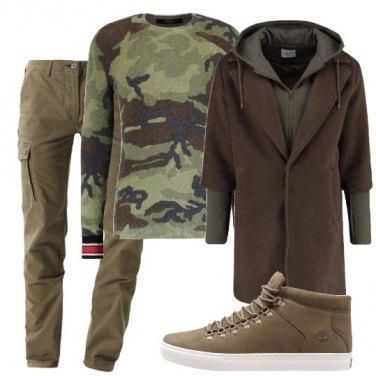 Outfit Stile militare