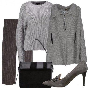 Outfit Cappa e maglione