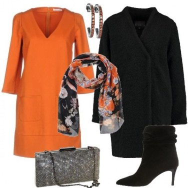 Outfit Arancio chic