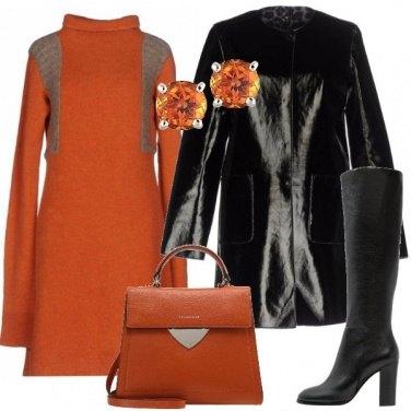 Outfit L\'abito arancio