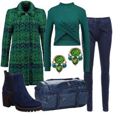 Outfit Il cappottino particolare
