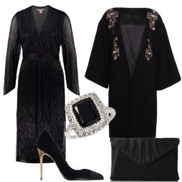 Outfit Ispirazione Morticia