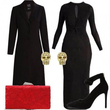 Outfit Morticia