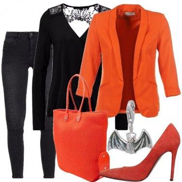 Outfit Un pipistrello come ciondolo