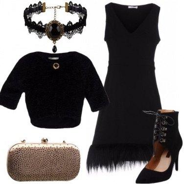 Outfit Per un party noir