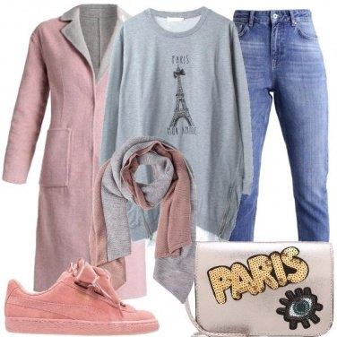 Outfit Con Parigi nel cuore