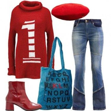 Outfit Alfabeto sulla shopper