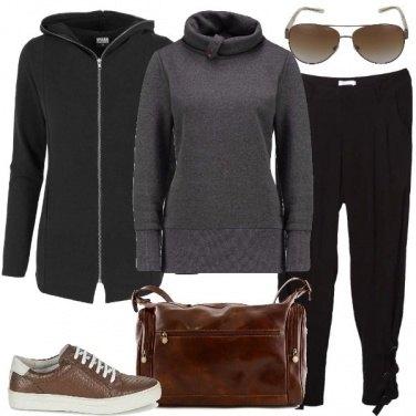 Outfit Il borsone di cuoio
