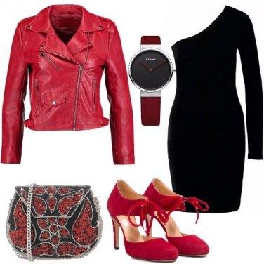 Outfit Mini abito monospalla
