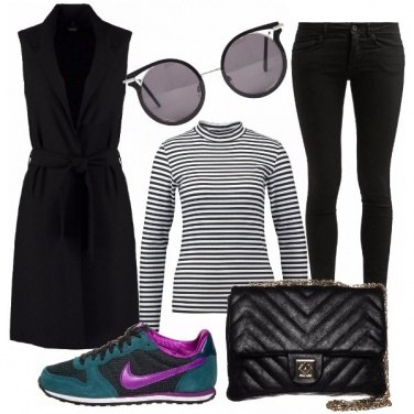 Outfit Biscay bay trainers