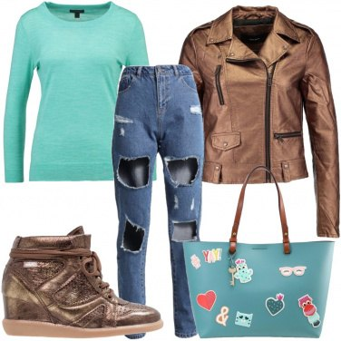Outfit Patches sulla borsa
