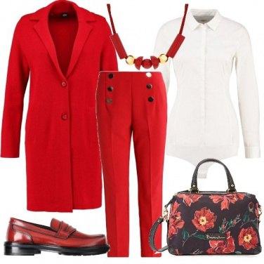 Outfit Fiori per il lavoro