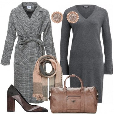 Outfit Il cappotto in Principe di Galles