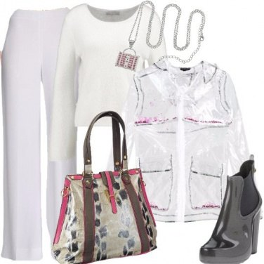 Outfit Trasparenze in pvc
