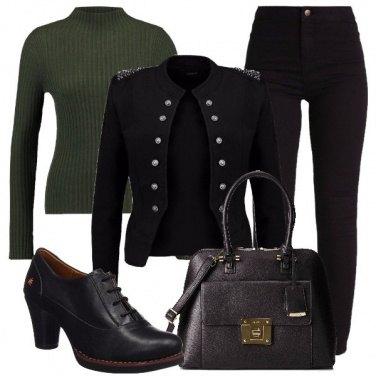Outfit Il nero prevale