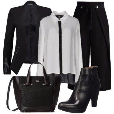 Outfit Blazer e camicia