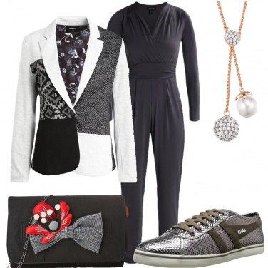 Outfit Giacca con fantasia particolare