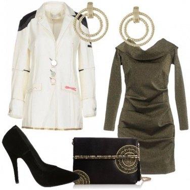 Outfit Cerchi dorati