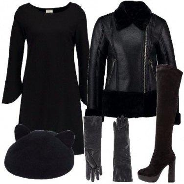 Outfit La donna in nero