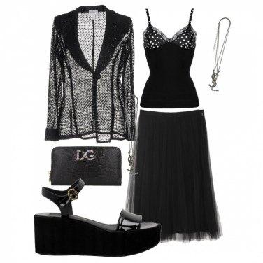 Come abbinare il portamonete nero: 31 Outfit Donna | Inverno