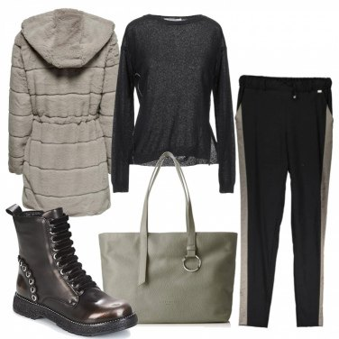 Come abbinare il cappotto con zip nero: 169 Outfit Donna