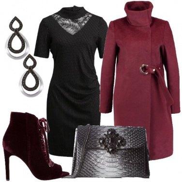 Outfit Lo stivaletto in velluto