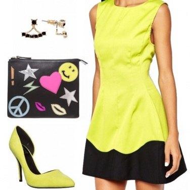 Outfit Fluo - bon ton