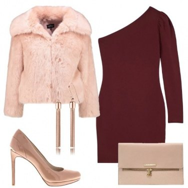 Outfit L\'abito rosso