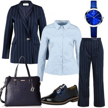 Outfit B come blu