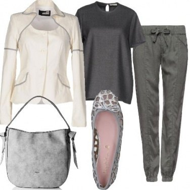 Outfit Giacca e ballerine
