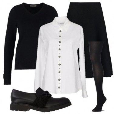 Outfit Con le trecce