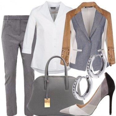 Outfit Giacca a doppio effetto