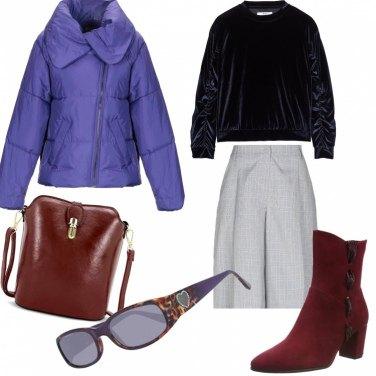 Come abbinare il piumino collo classico: 69 Outfit Donna