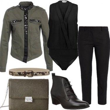 Outfit La giacca con dettagli preziosi