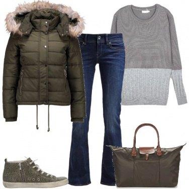 Outfit Una grande borsa