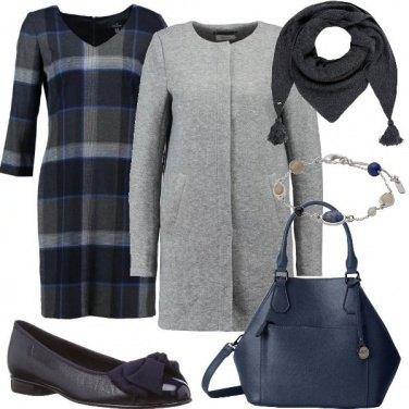 Outfit Vestito a scacchi
