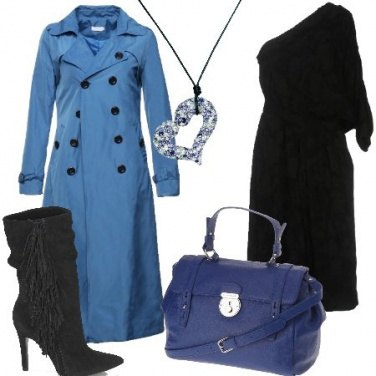 Outfit Cuore blu