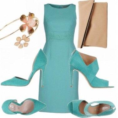 Outfit Cerimonia in primavera.