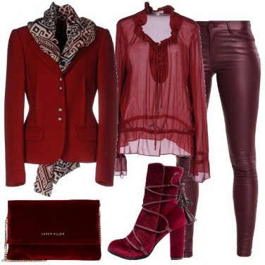 Outfit La giacca di flanella