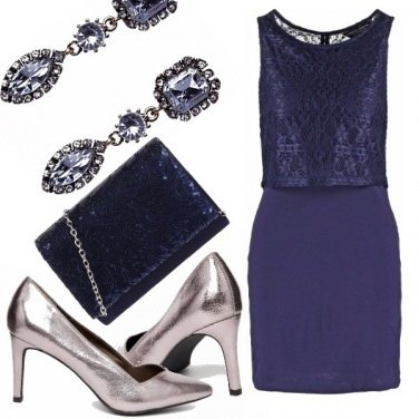 Outfit Lady blue